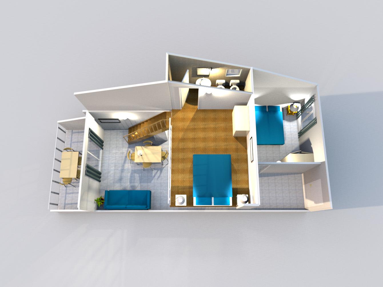 Frontale Appartamenti soppalco